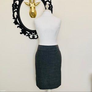 ✨NWT Banana Republic Gray Pencil Skirt